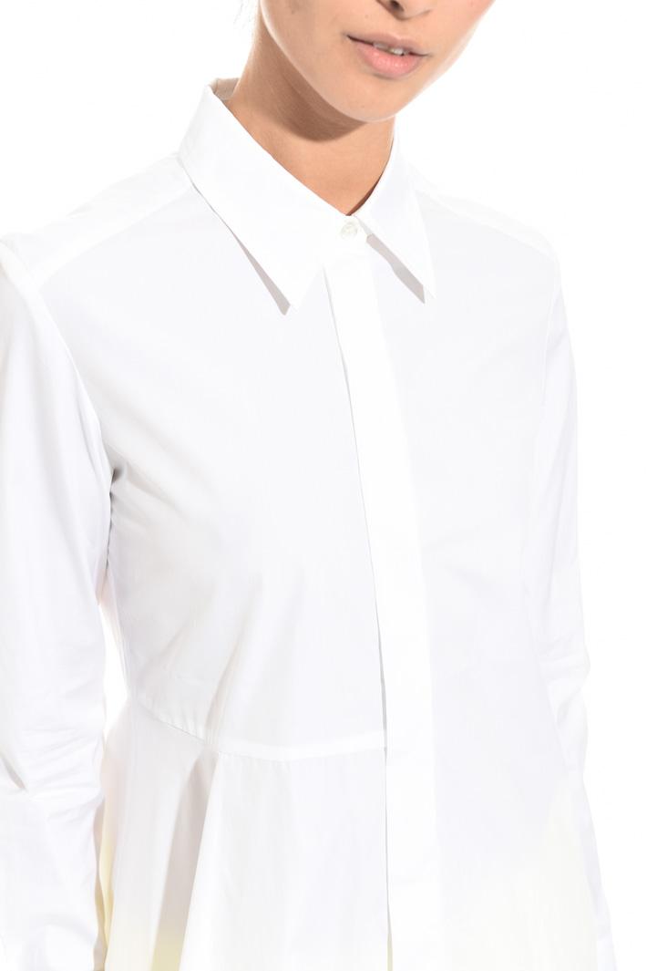 Long poplin shirt Diffusione Tessile