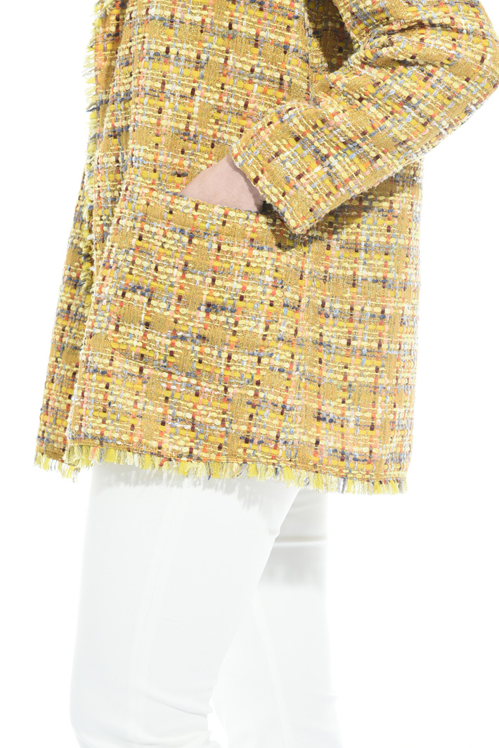 Jacket in interwoven lurex Diffusione Tessile