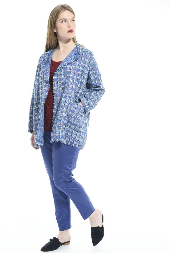 Jacket in interwoven lurex Diffusione Tessile