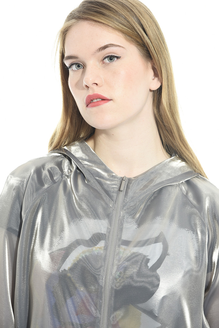 Parka in shimmering organza Intrend