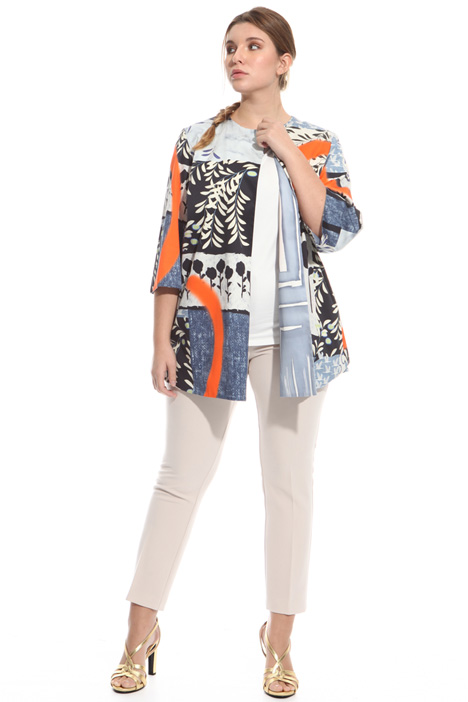 Reversible printed jacket Intrend