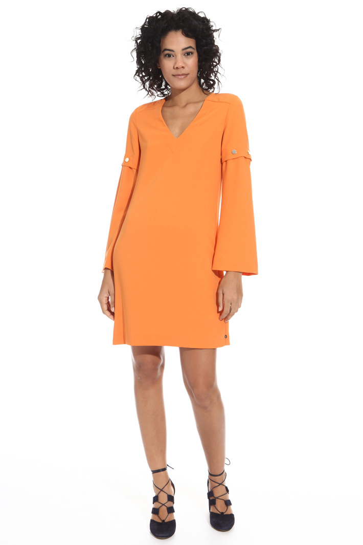 Dress with removable sleeves Intrend