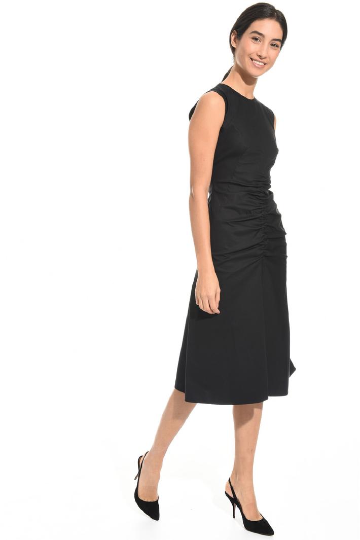 Stretch ruched dress Intrend