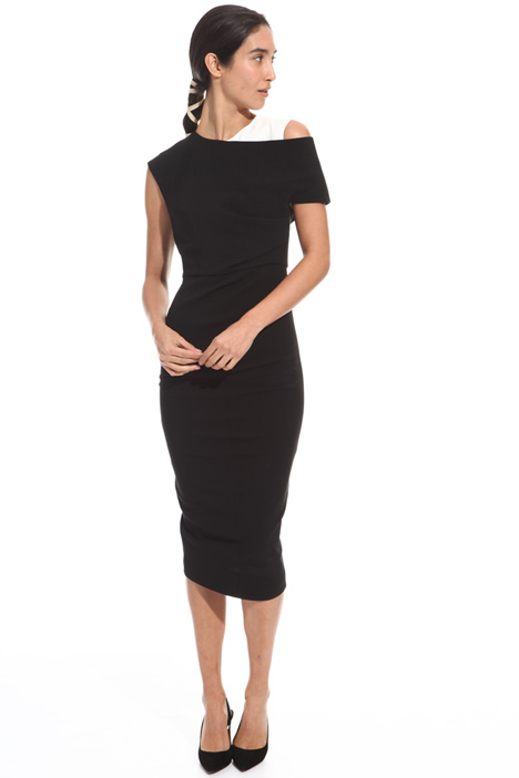 Longuette sheath dress Diffusione Tessile