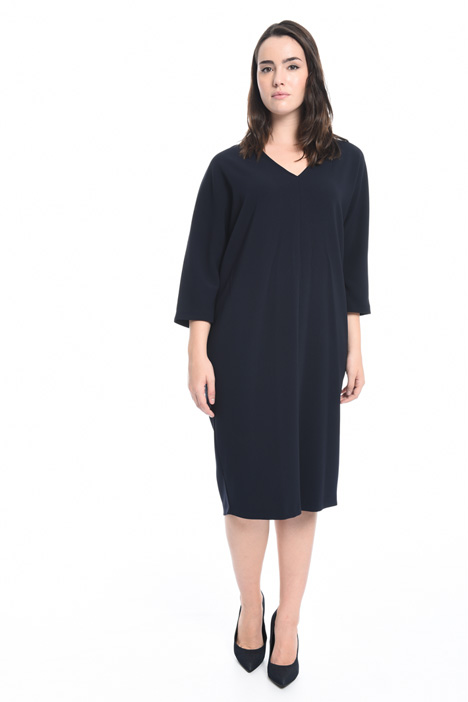 Triacetate egg shaped dress Intrend