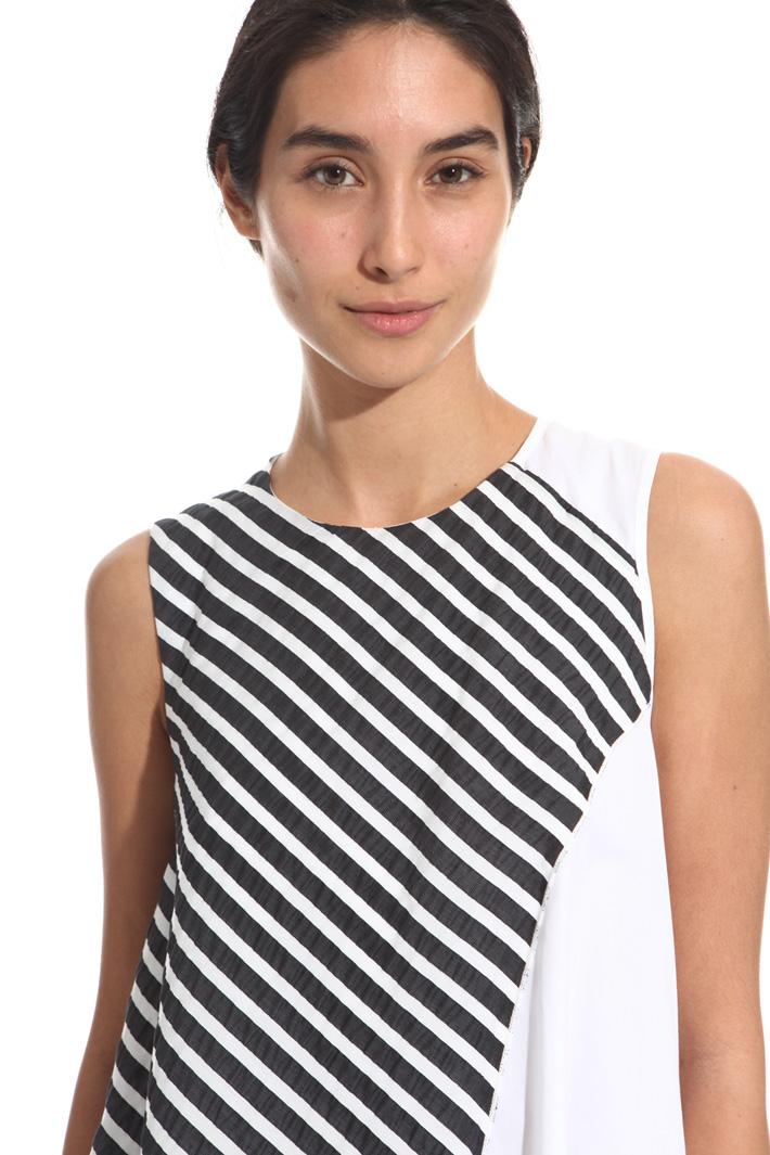 Cotton A-line dress Intrend