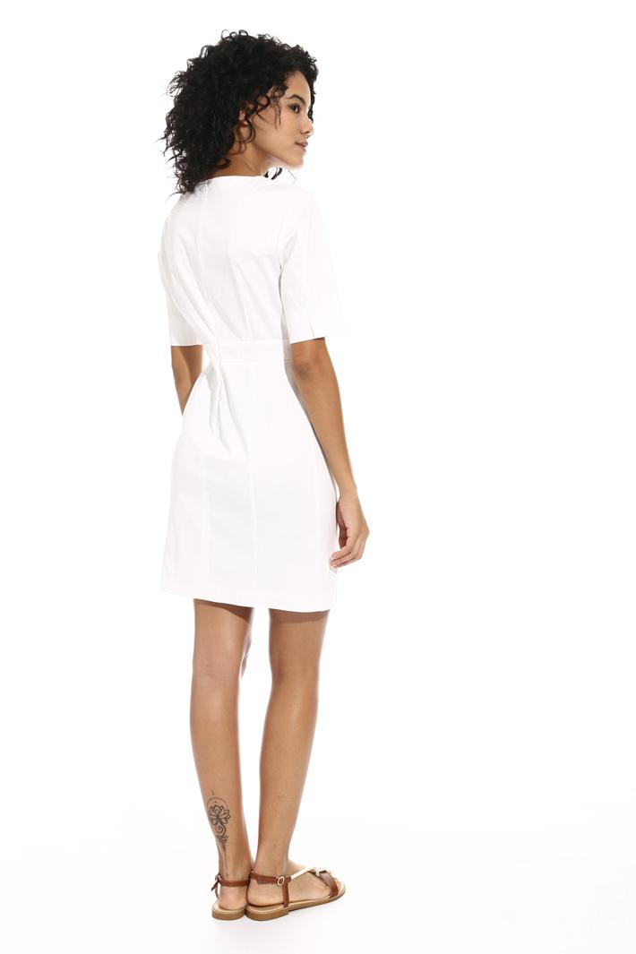 Satin cotton dress Intrend