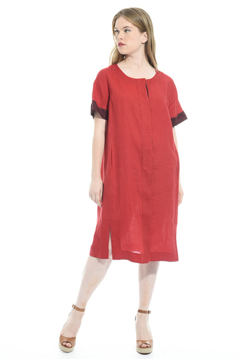 Pure linen dress Diffusione Tessile