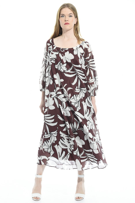 Printed muslin dress Diffusione Tessile