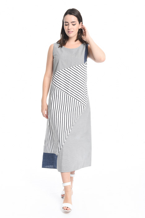 Cotton poplin dress Diffusione Tessile