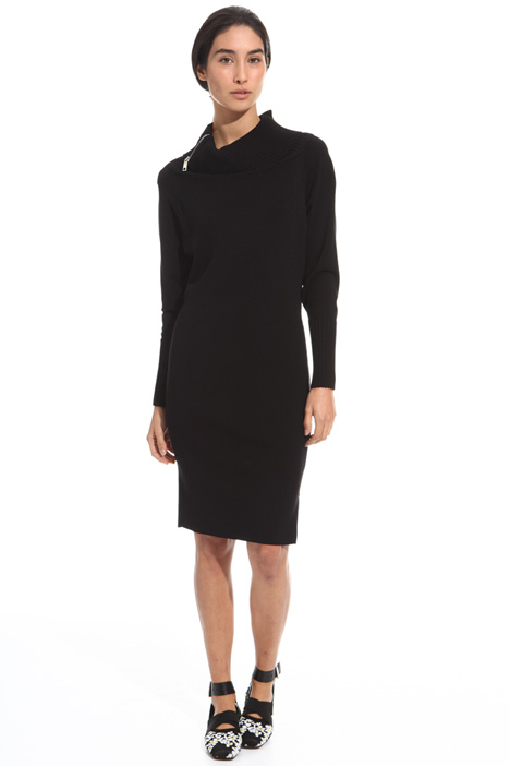 Knitted zip dress Diffusione Tessile