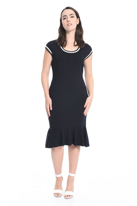 Viscose sheath dress Diffusione Tessile