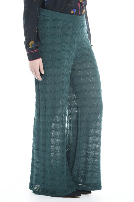 Pantalone palazzo in maglia Diffusione Tessile