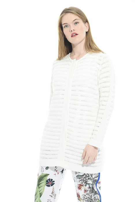 Long mesh cardigan Intrend