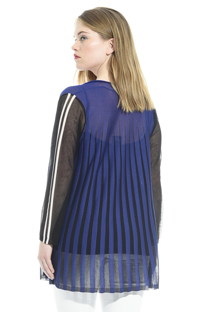 Crepe viscose cardigan Intrend