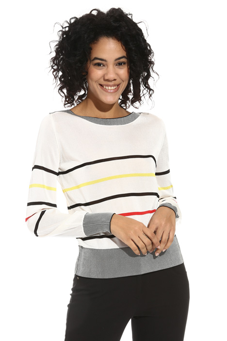 Glossy viscose sweater Intrend