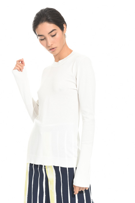 Matte viscose sweater Intrend
