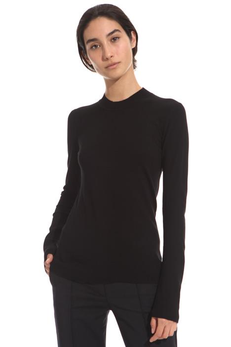 Matte viscose sweater Diffusione Tessile