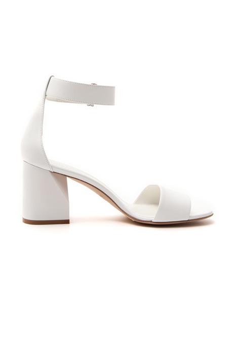 Sandalo in pelle con cinturino Diffusione Tessile