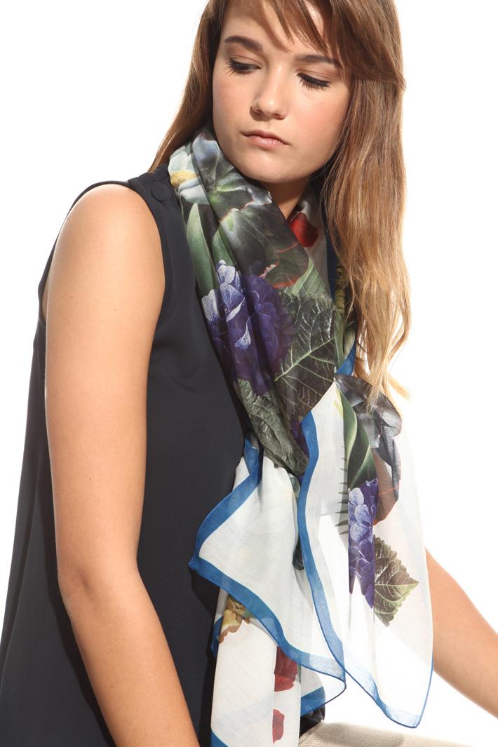 Oversized cotton foulard Intrend