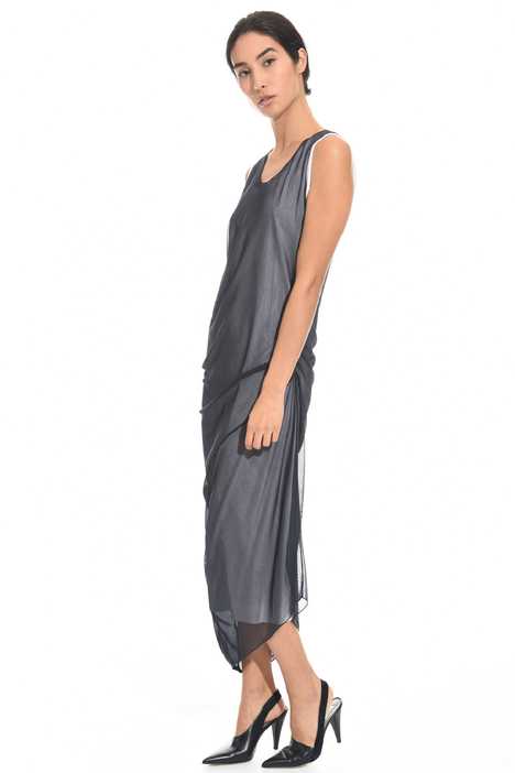 Draped jersey dress Diffusione Tessile