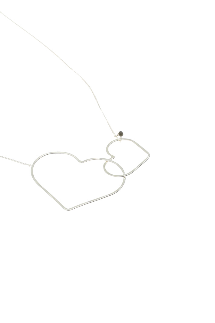 Heart silver necklace Intrend