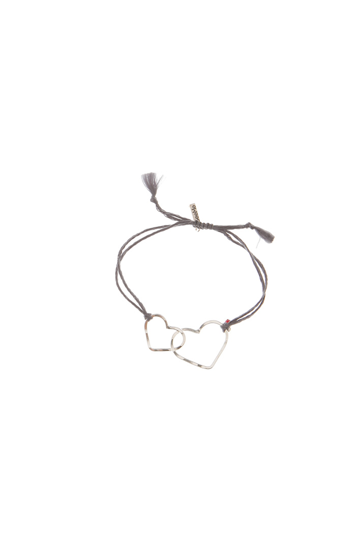 Heart pendant bracelet Diffusione Tessile