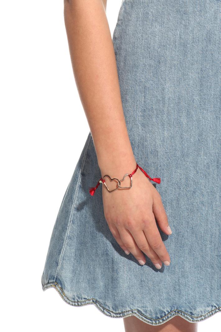 Heart pendant bracelet Intrend