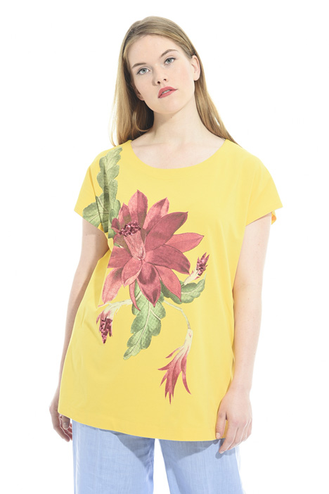 Printed T-shirt with embroidery Intrend