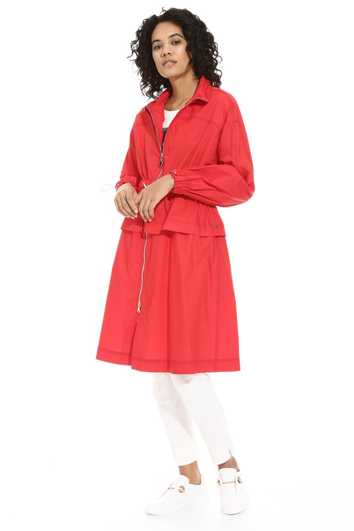 Poplin duster coat Intrend