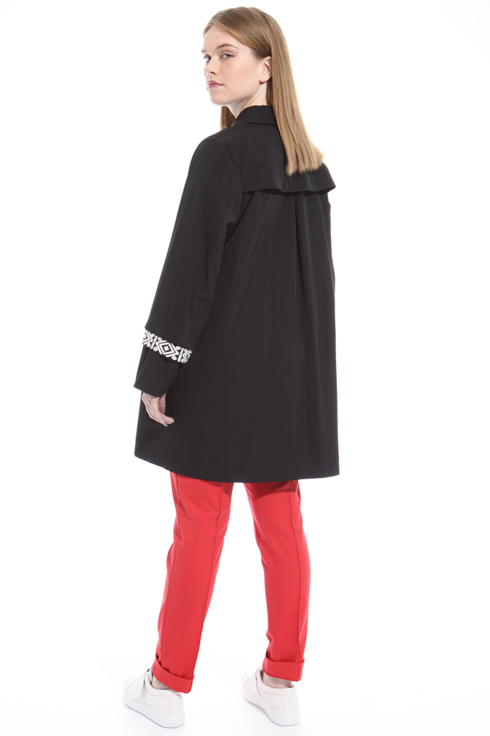 Gabardine rain coat Intrend