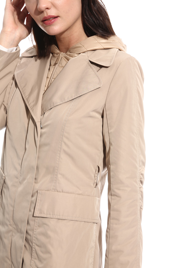 Padded rain coat Intrend