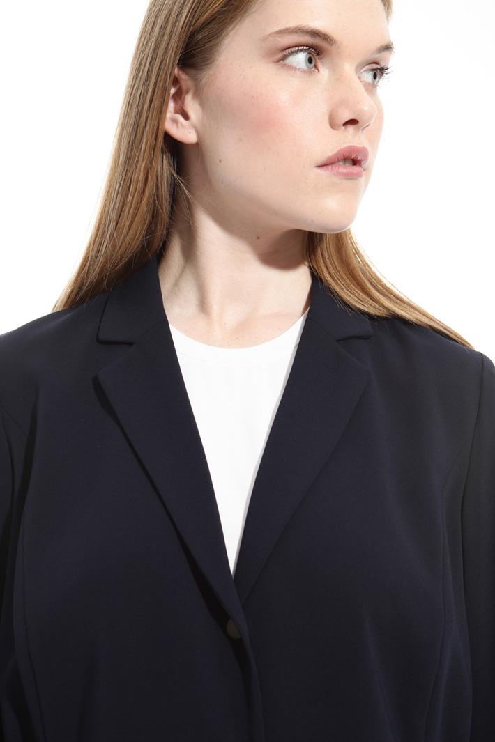 Stretch fabric blazer Intrend