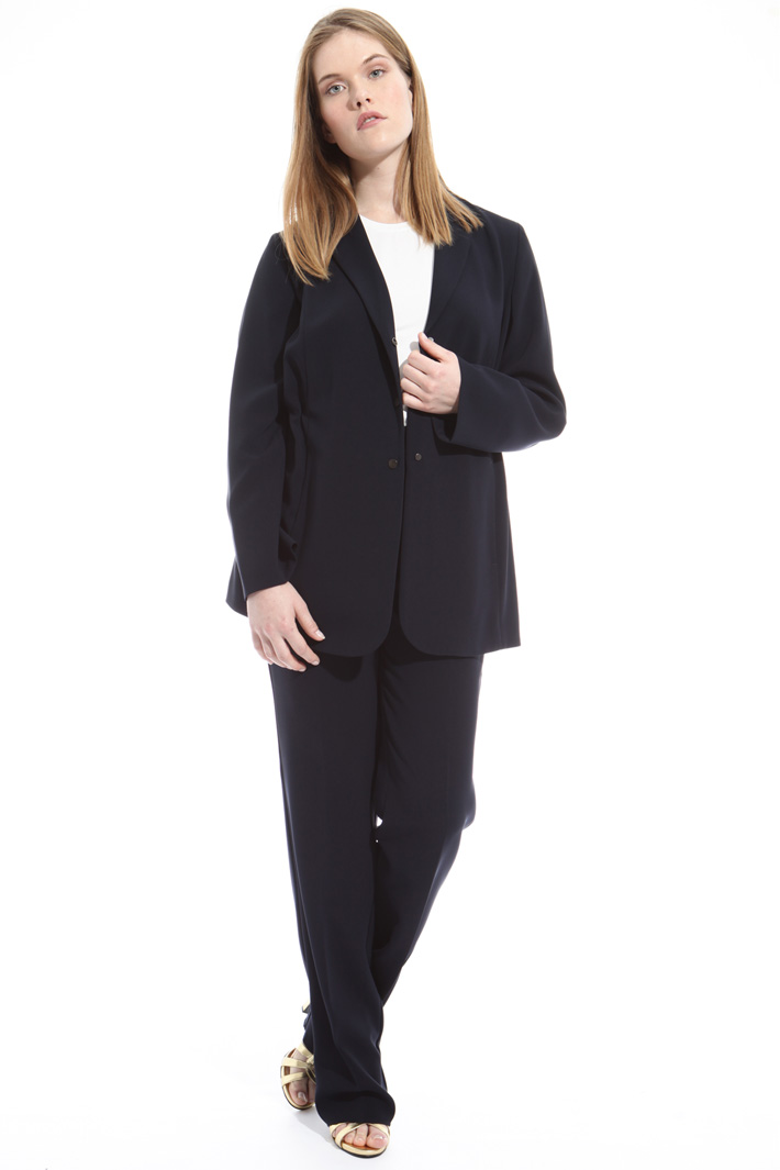 Stretch fabric blazer Diffusione Tessile