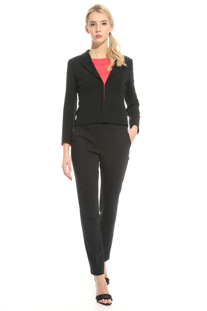 Fitted triacetate jacket Intrend