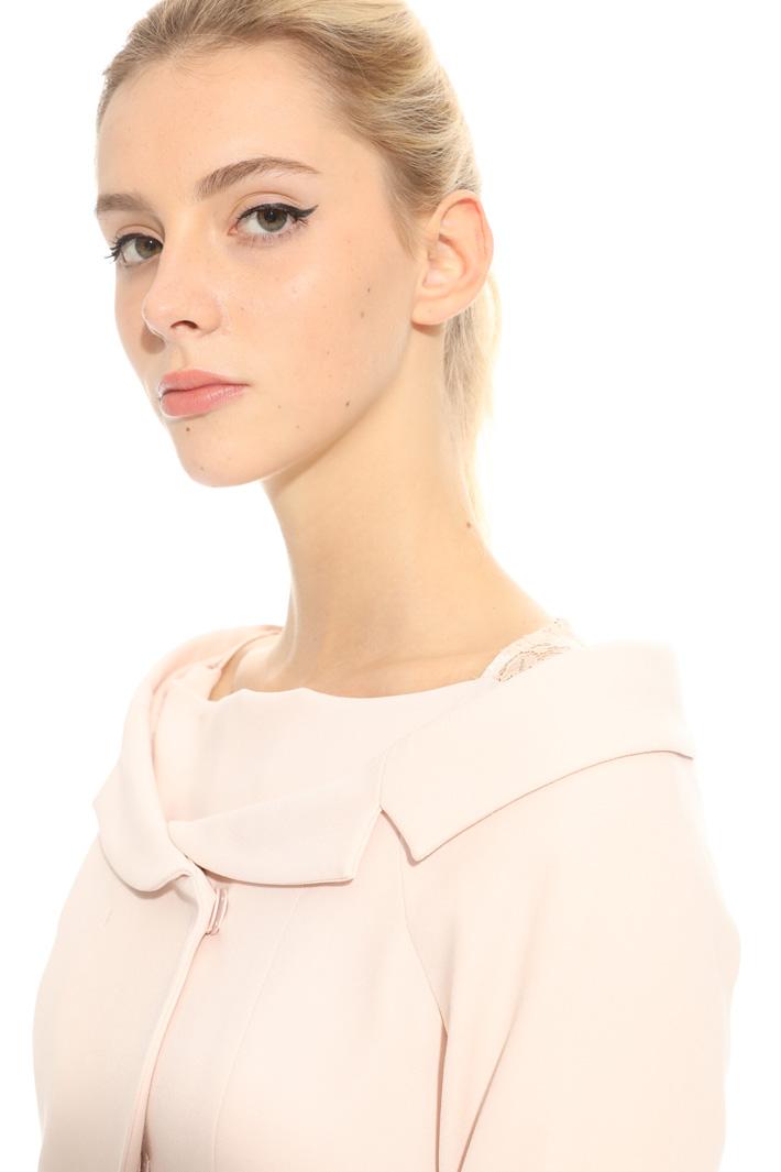 Wide neck jacket Intrend