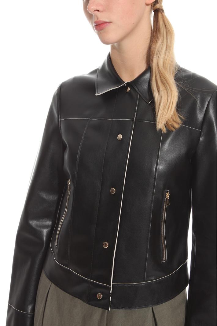 Leatherette jacket Intrend