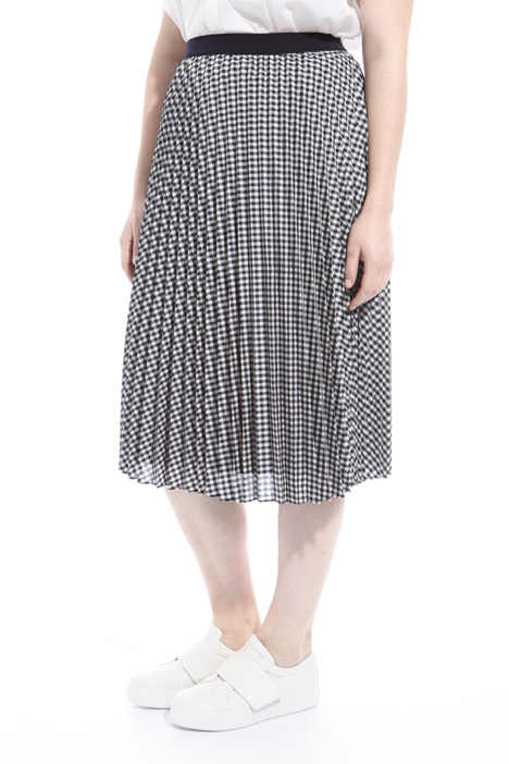 Midi pleated skirt Diffusione Tessile