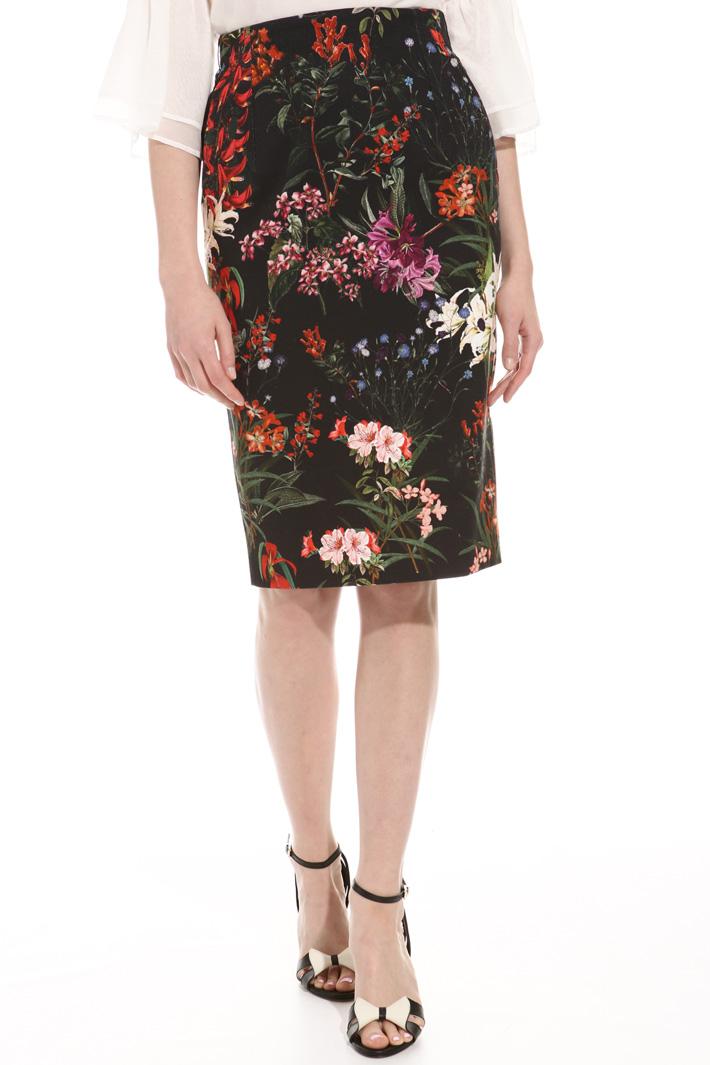 Fancy stretch skirt Intrend