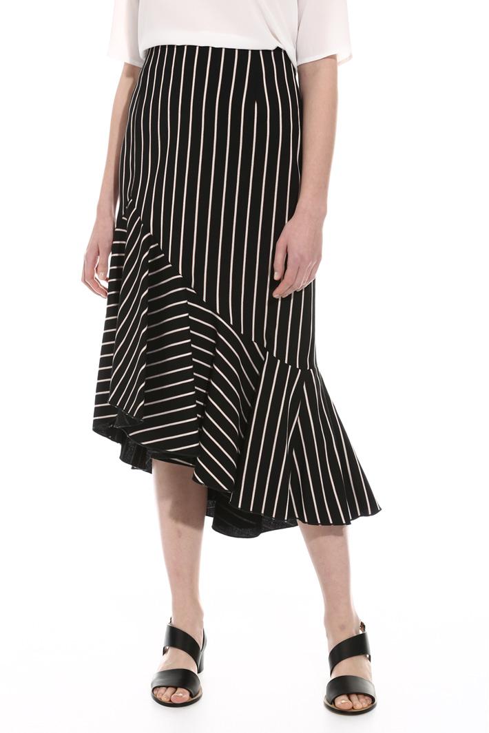 Flounced skirt Intrend