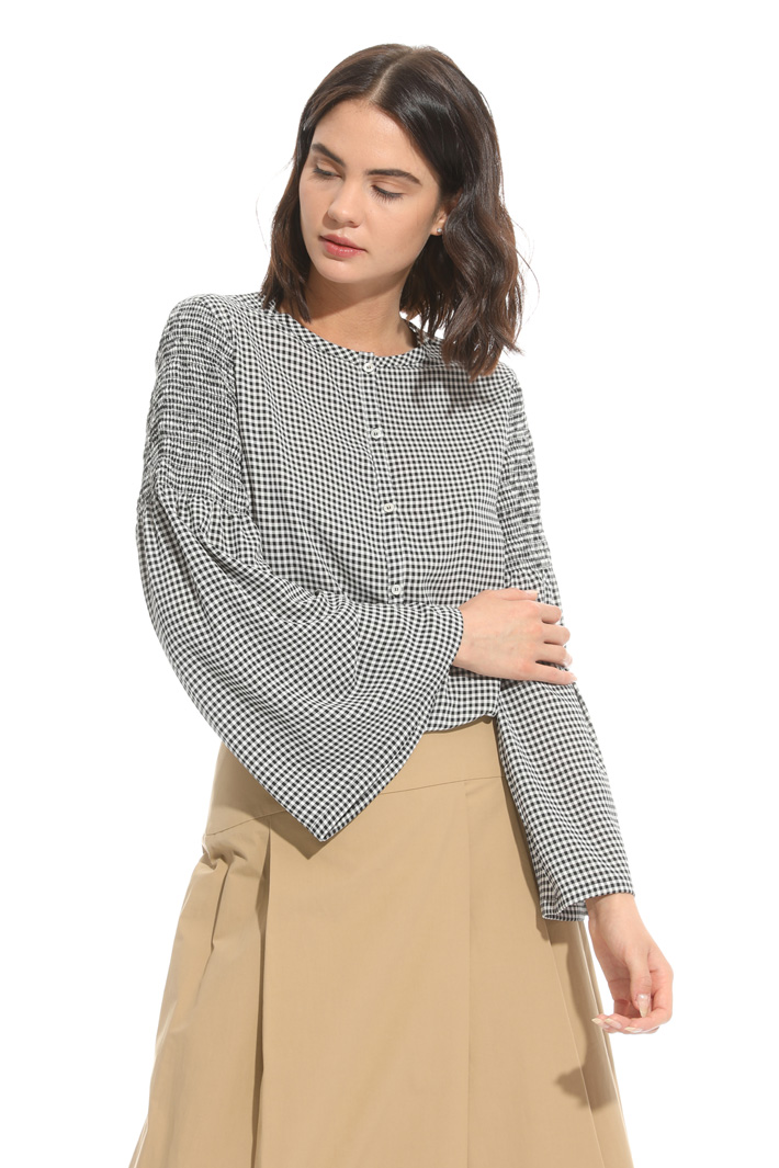 Flared sleeve blouse Intrend