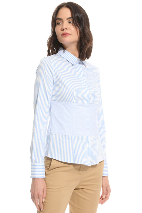 Fitted cotton shirt Diffusione Tessile