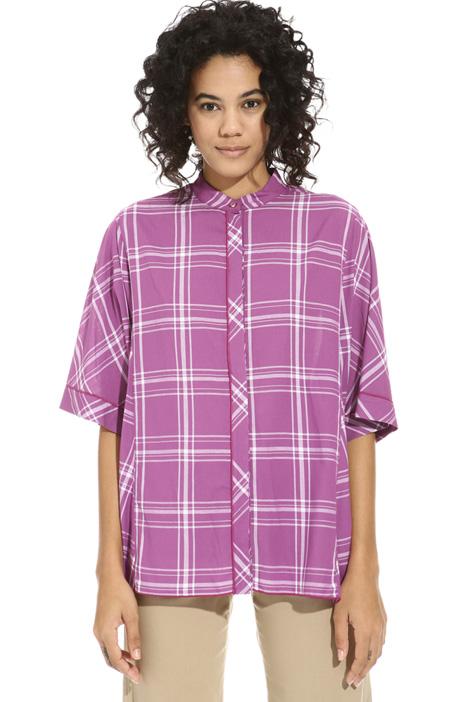 Gauze kimono shirt Intrend