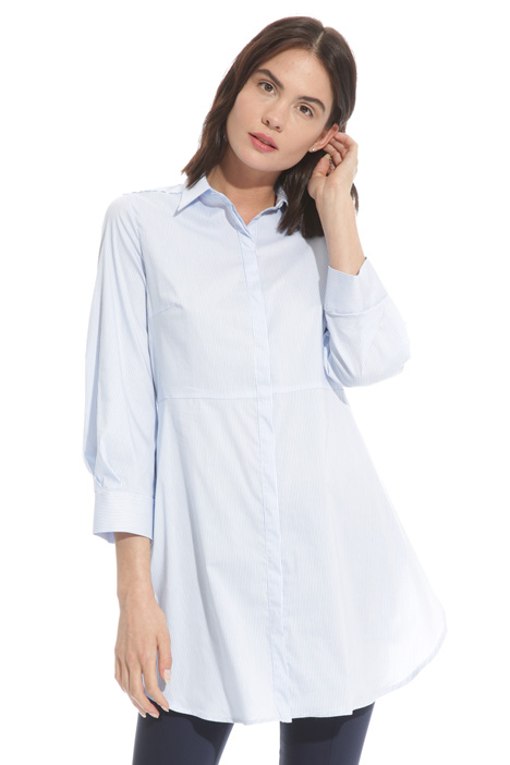 Long flared shirt  Intrend