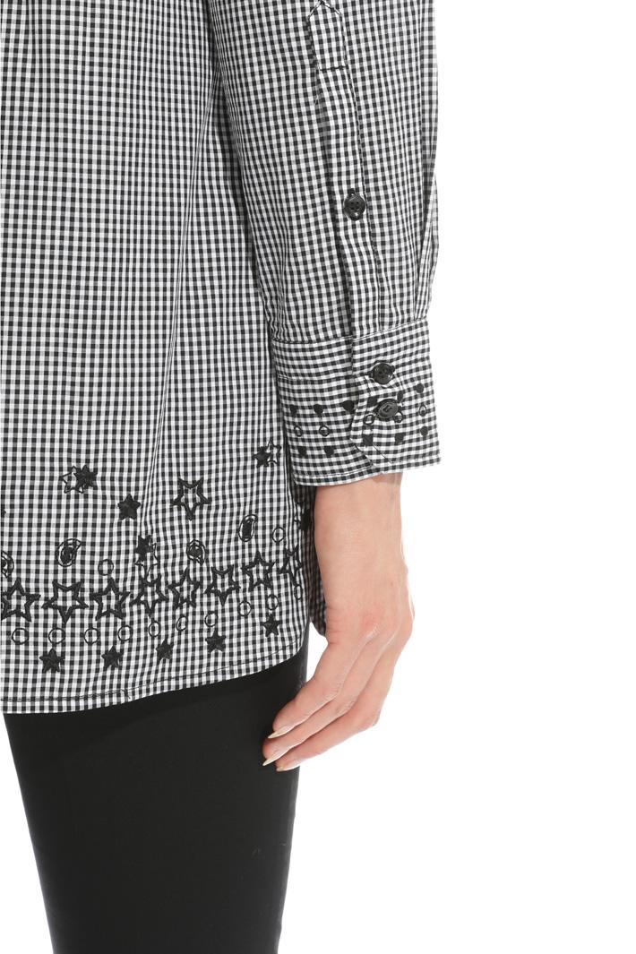 Yarn-dyed poplin shirt Intrend
