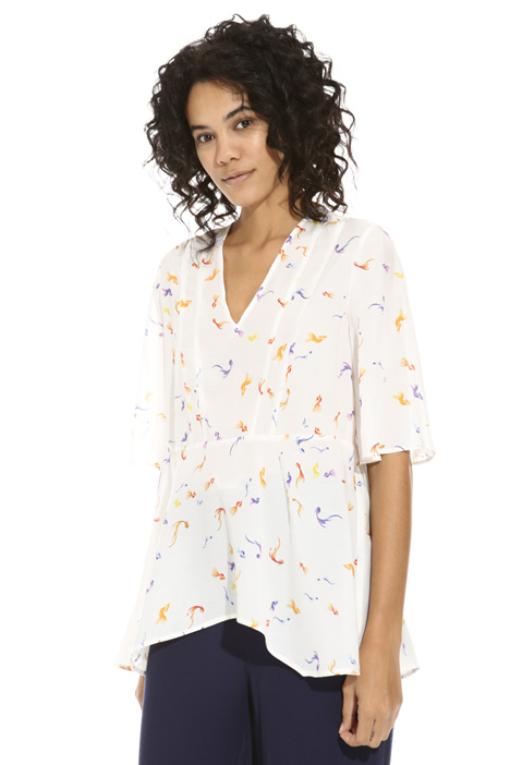 Lightweight viscose top Intrend