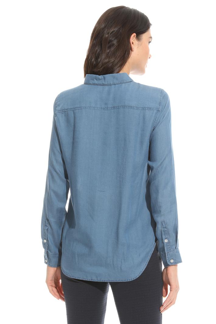 Fluid fabric shirt Intrend