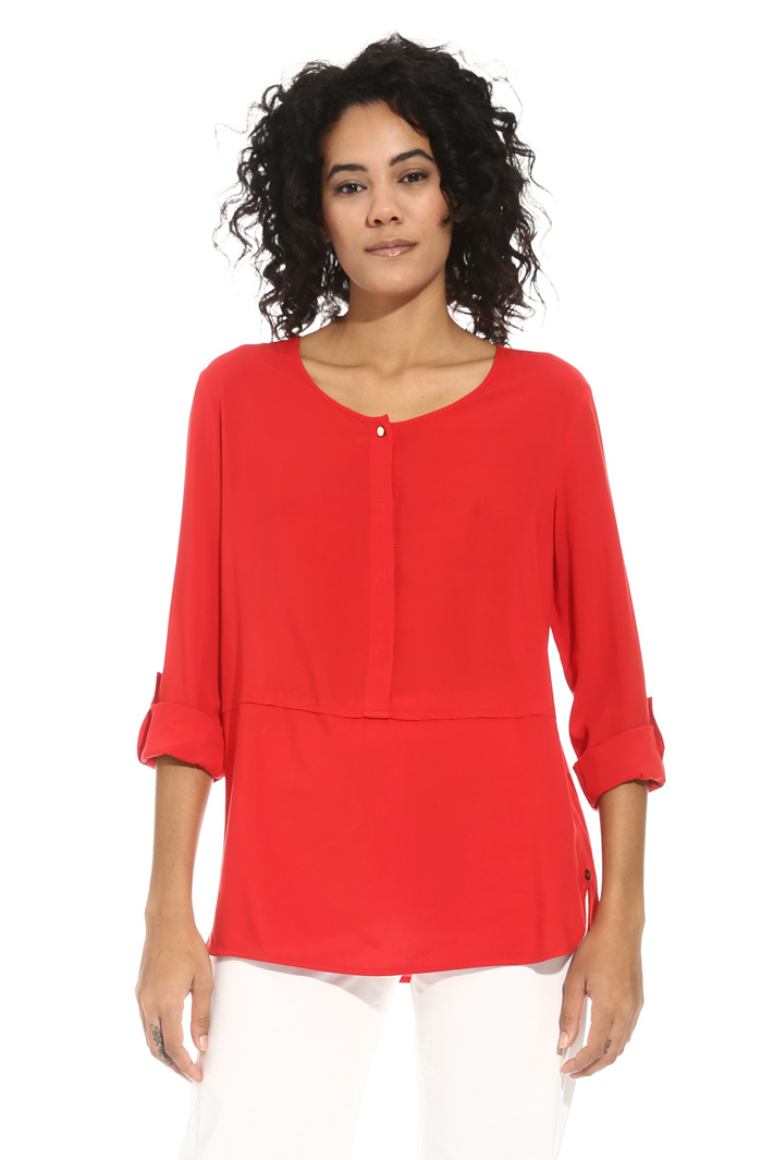 Blusa in fluido di viscosa Intrend
