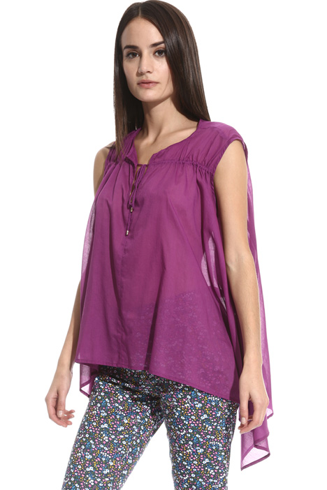 Voilè cotton top Intrend