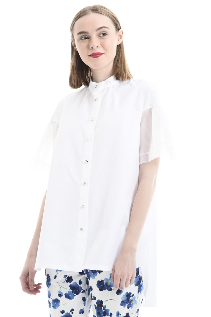 Shirt with bell sleeves Intrend